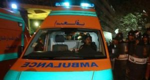 مصرع طفل 3 سنوات صدمه تروسيكل بجهينة غربى سوهاج